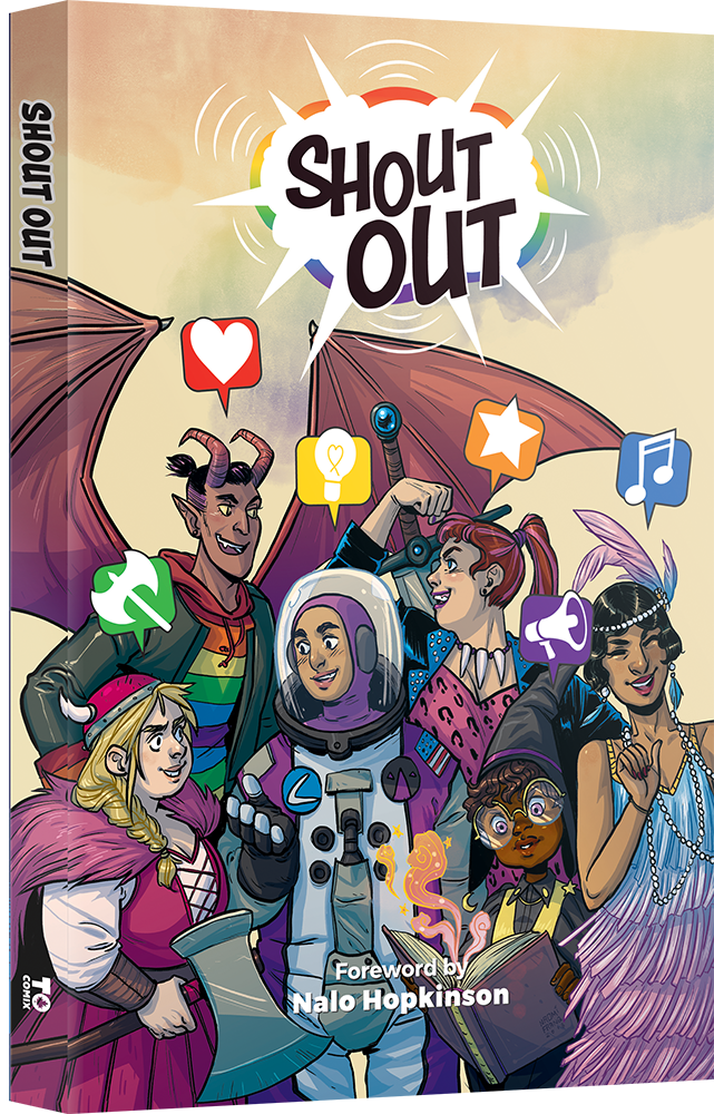 Shout Out anthology, published by TO Comix Press